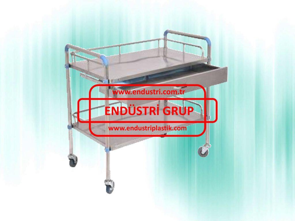paslanmaz-celik-medikal-hastane-saglik-pansuman-ameliyat-ilkyardim-malzeme-metal-tasima-servis-arabasi-arabalari